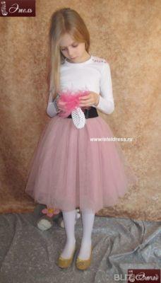 Детская фатиновая юбка фото