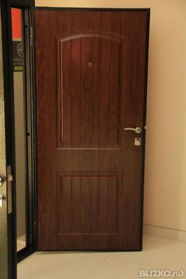 дверь входная октябрьский