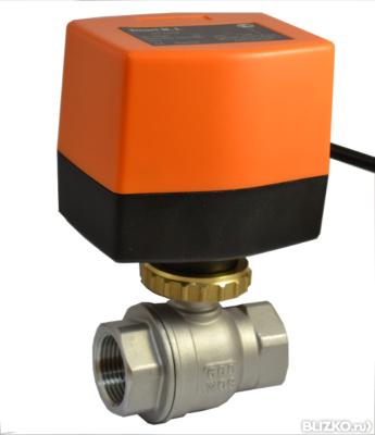 шаровой кран с электроприводом smart