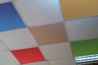 Плиты для подвесного потолка MAGELAN Arctic (белые, фактурные) 10 шт/кор