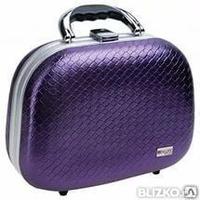 94175d733e38 Чемодан для парикмахерских инструментов фиолетовый 30,5х14х22,5см HP803С