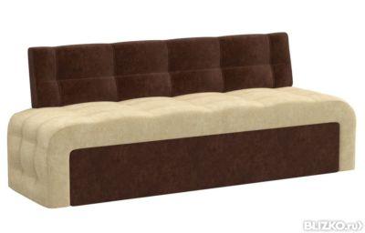 прямой кухонный раскладной диван для маленькой кухни мебелико в