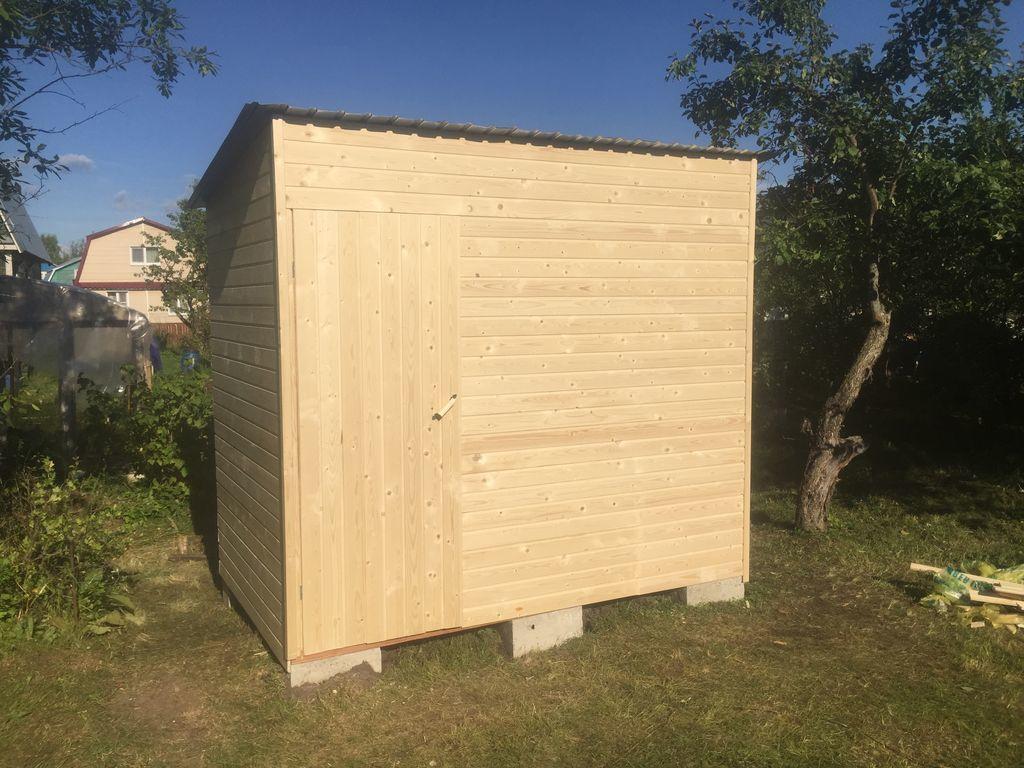 Хозблок дачный 3*1 м с туалетом от компании СтройСад купить в городе Нижний Новгород