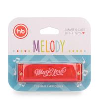 Губная гармошка Happy Baby MELODY , красная